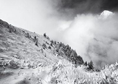 Haute Maurienne, noir et blanc