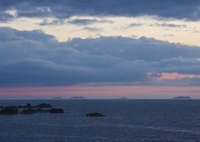 heure bleue sur les 7 îles