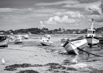 Bretagne, noir et blanc