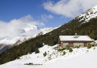 premières neige au Cuchet